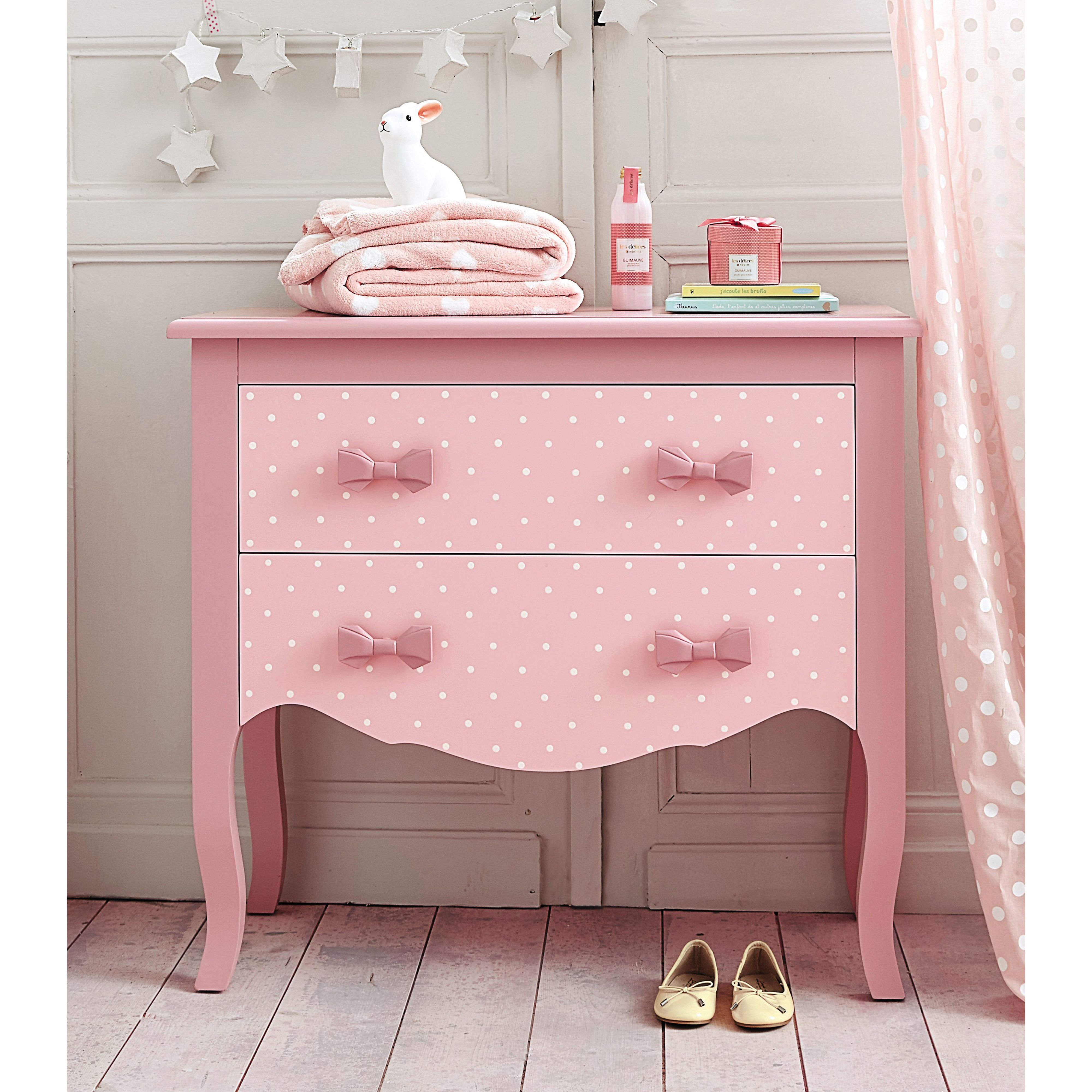Commode enfant coquette maisons du monde mdm junior pinterest roses - Commodes maison du monde ...