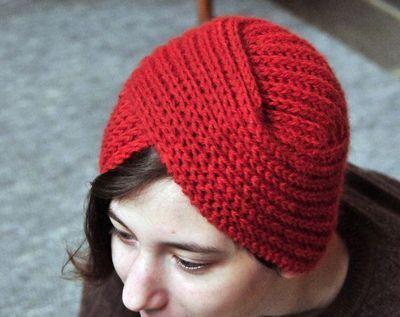 Knit Turban Pattern Urban Turban Knitting Pattern Crochet Ideas