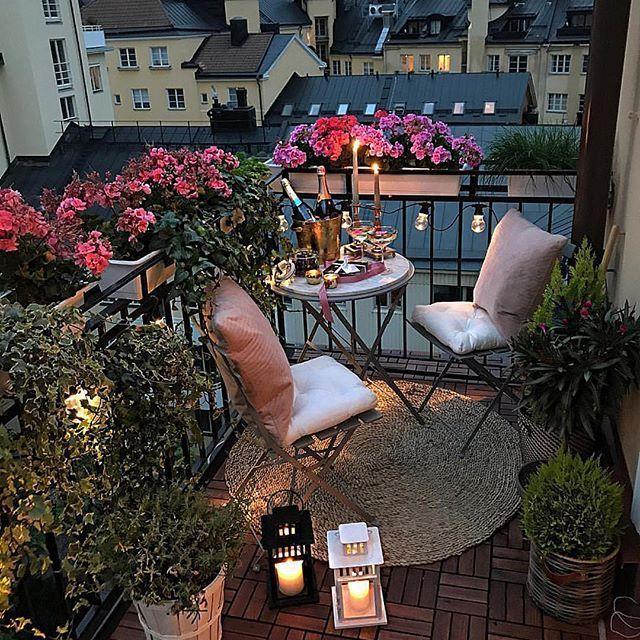 Balcony #smallbalconyfurniture