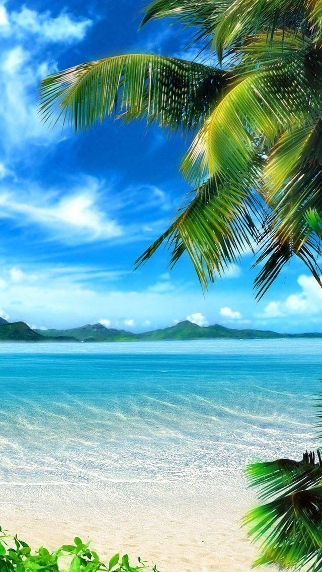 Cool Fond D Ecran Iphone Hd Iphone 7 840 Nature Pictures Beach Wallpaper Beautiful Landscapes
