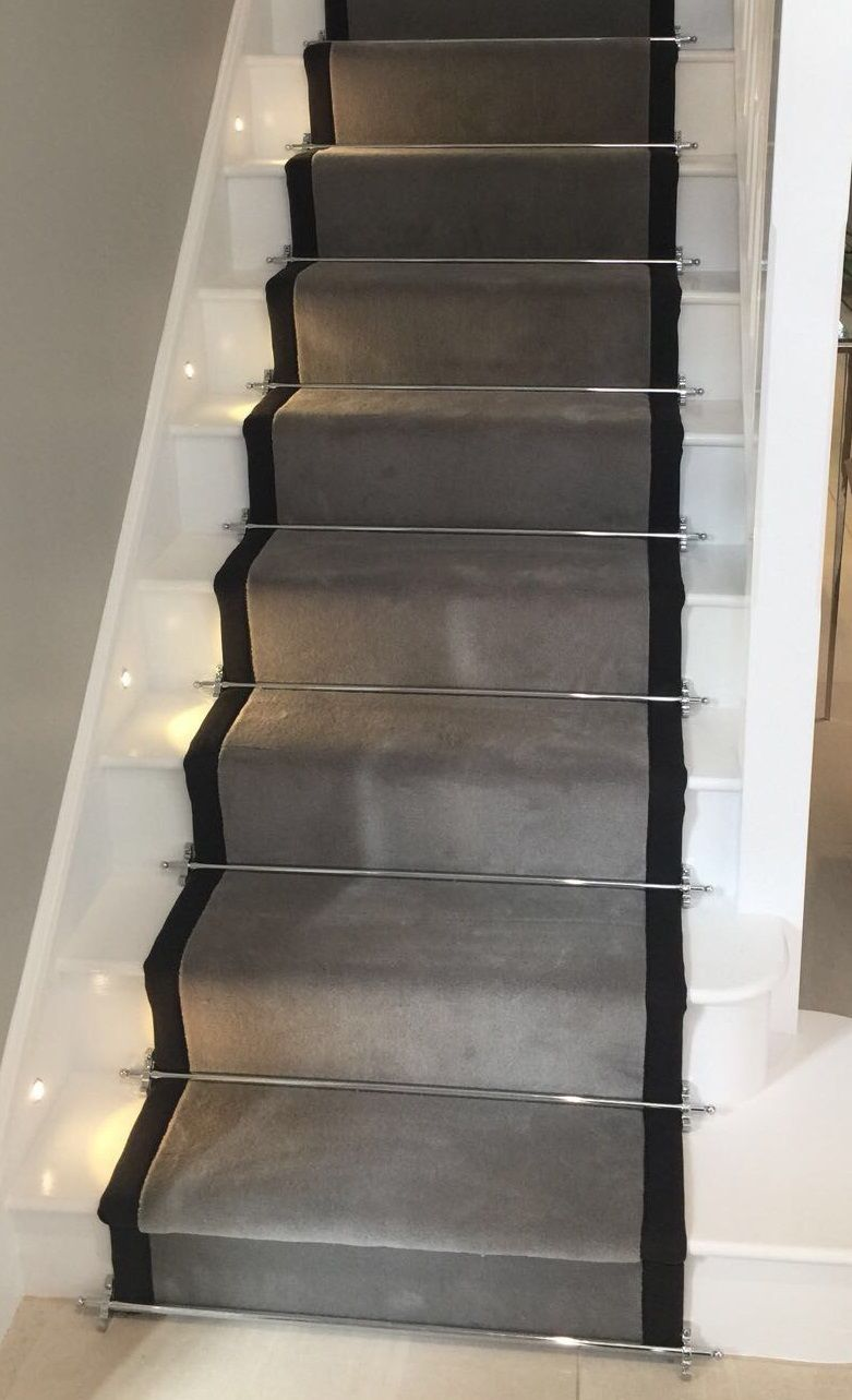Terrific Pics Grey Carpet Stairs Thoughts Selecting The Most Appropriate Carpet Colour Can Be Quite A Daun In 2021 Home Stairs Design Carpet Stairs Stair Runner Carpet