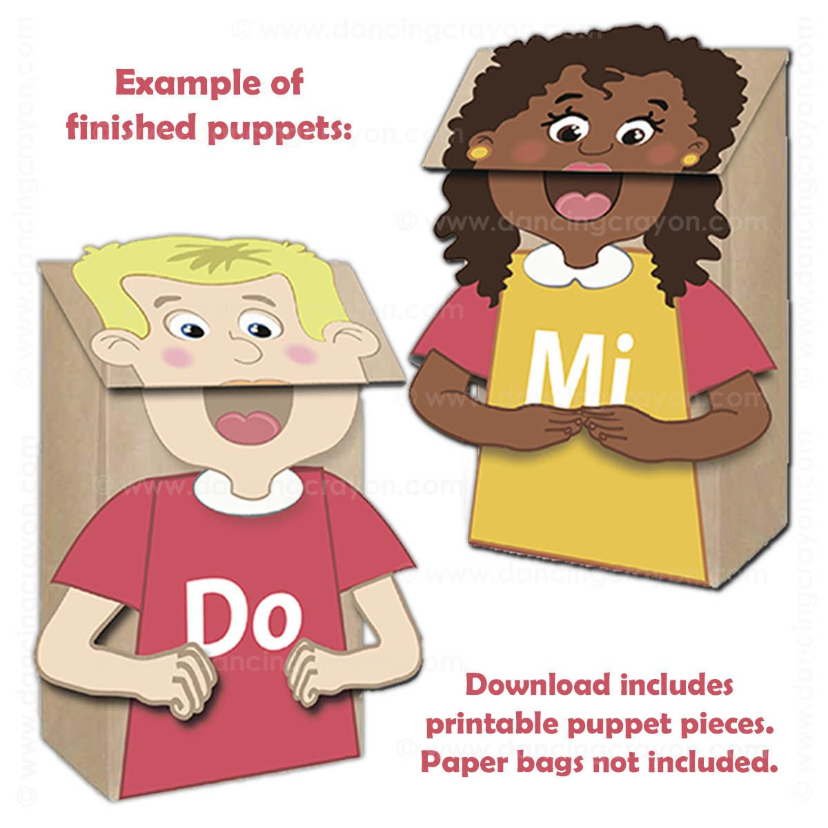 Kodaly Puppets