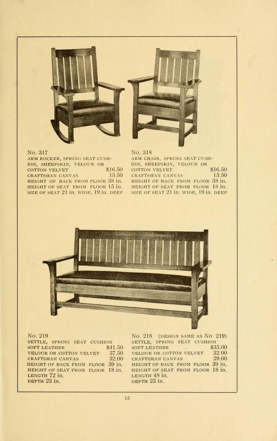 stickley craftsman furniture catalogs l j g stickley