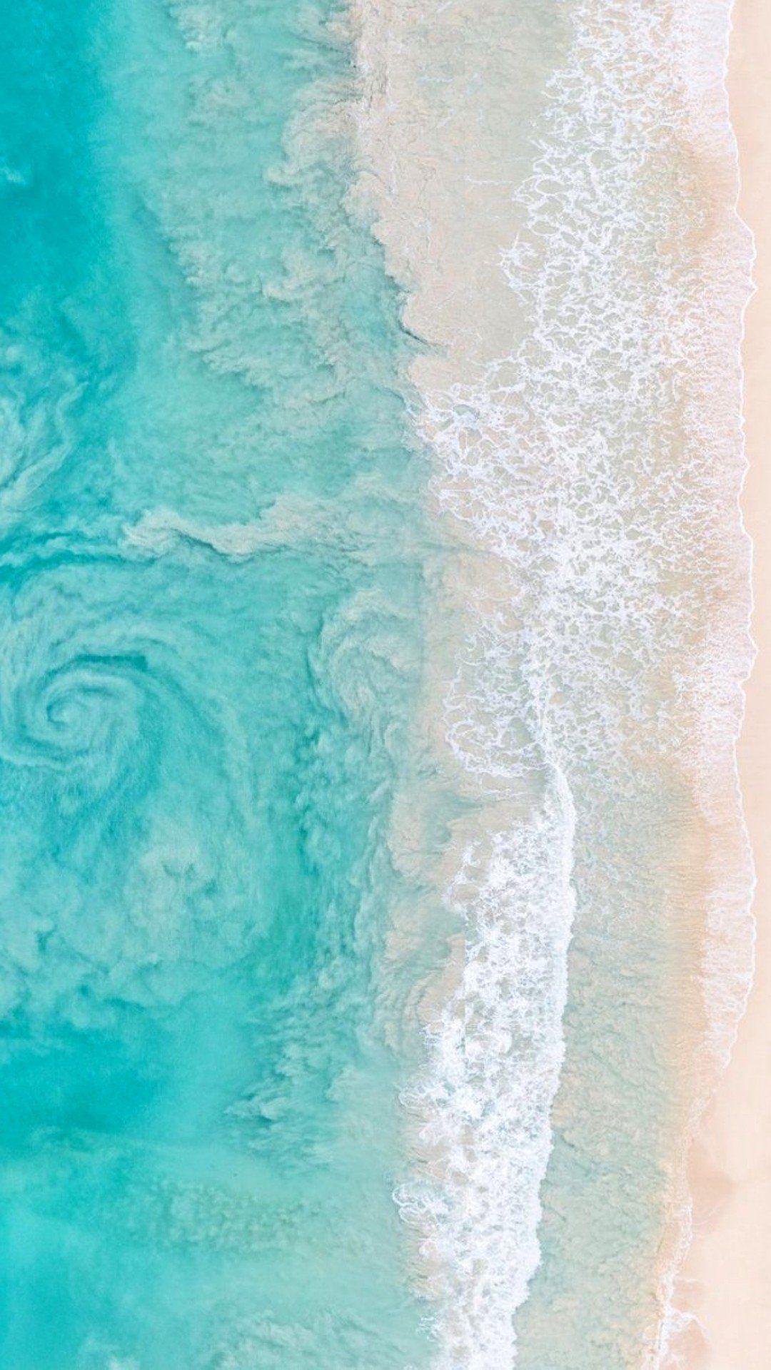 Phone Wallpaper gray_malin Beach Beach Ocean Wallpaper