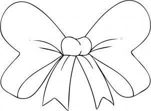 How To Draw A Hair Bow Step 4 Bow Drawing Drawings Coloring Pages