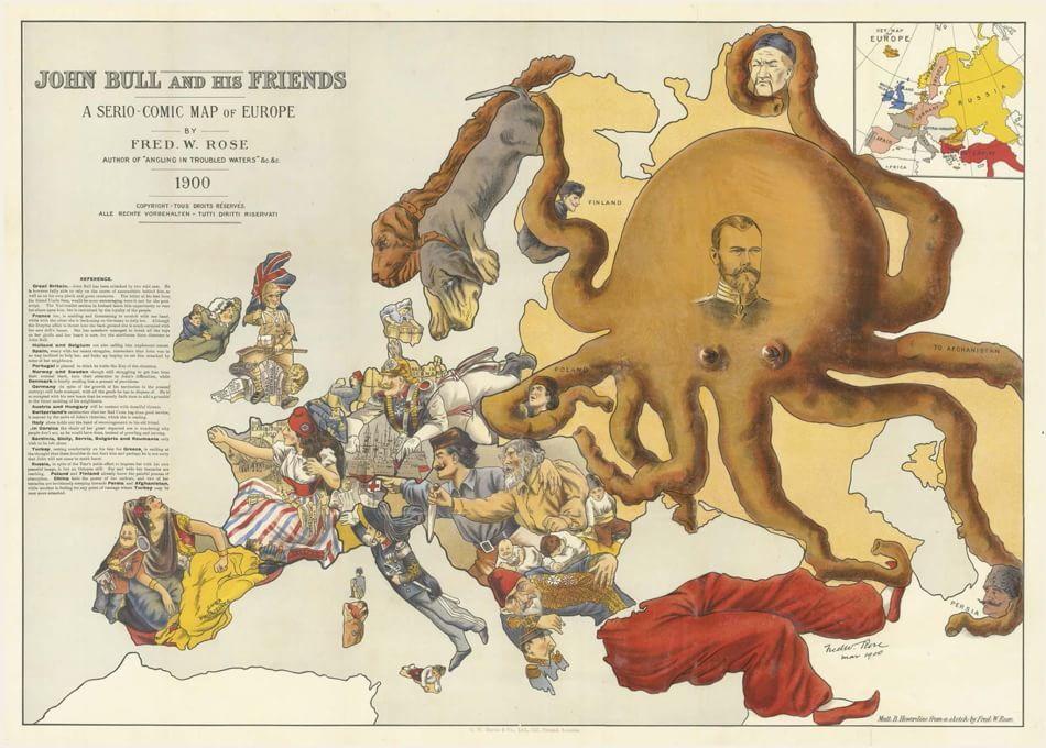 War Map, la propaganda nelle mappe del XX secolo