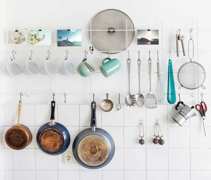 20 DIY Ideen: Kleine Küche einrichten und dabei viel Platz sparen ...