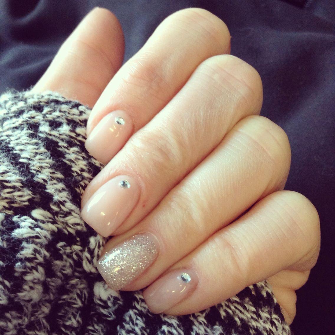 Pin on Nail art with rhinestones
