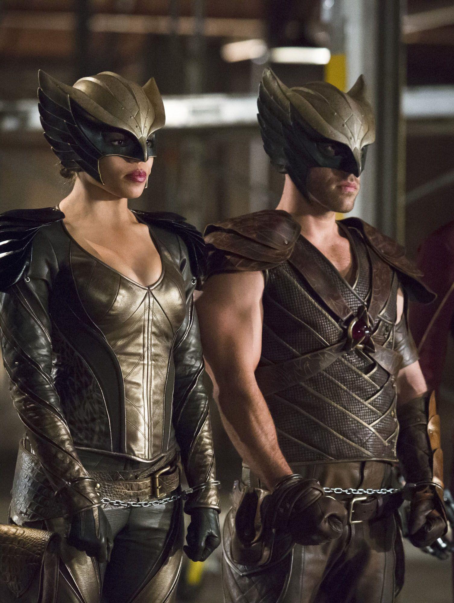 Arrow 4X08 - Hawkgirl  Hawkman  My Geekdom  Dc Comics -9071