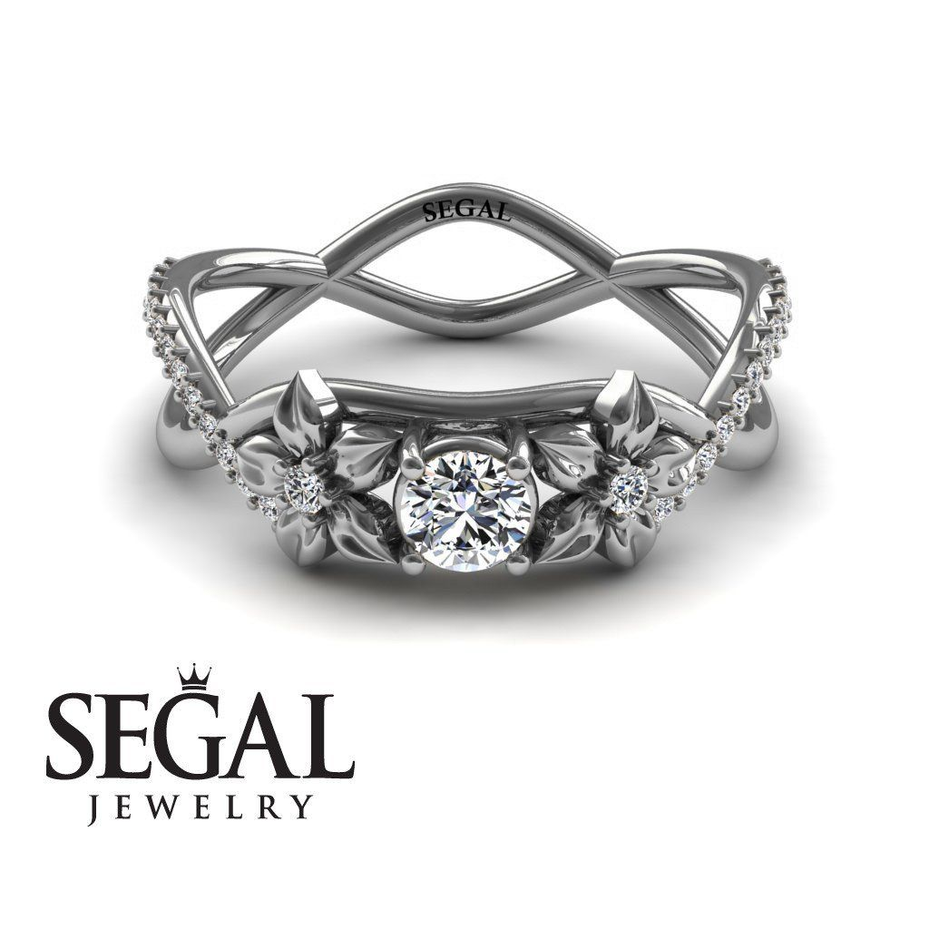 The Swift Flowers Diamond Ring Charlie No 3 Engagement Ring And