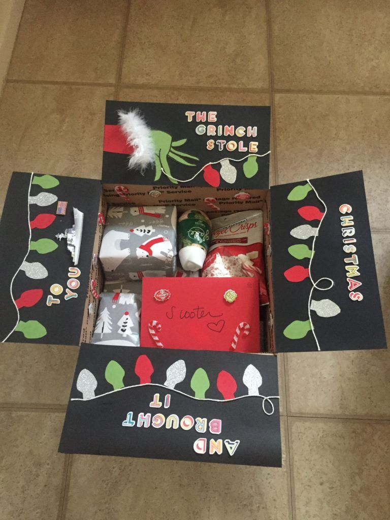Five Very Merry Christmas Care Package Themes - Countdowns and Cupcakes