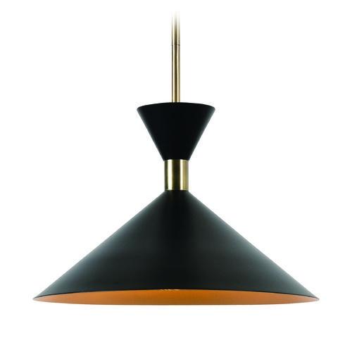Mid century modern pendant light black arne by kenroy home mid century modern pendant light black arne by kenroy home at destination lighting aloadofball Gallery
