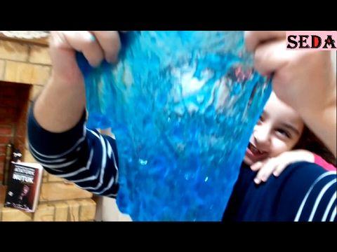 Slime Yaptık Harika Oldu Slaym Videomuz Eğlenceli çocuk