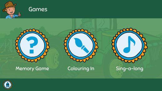 Games and activities on the George the Farmer App. Download now on iTunes.  #farm #farming #kids #kidsapp #kidsfarm #aussiefarm #aussie #australia #illustration