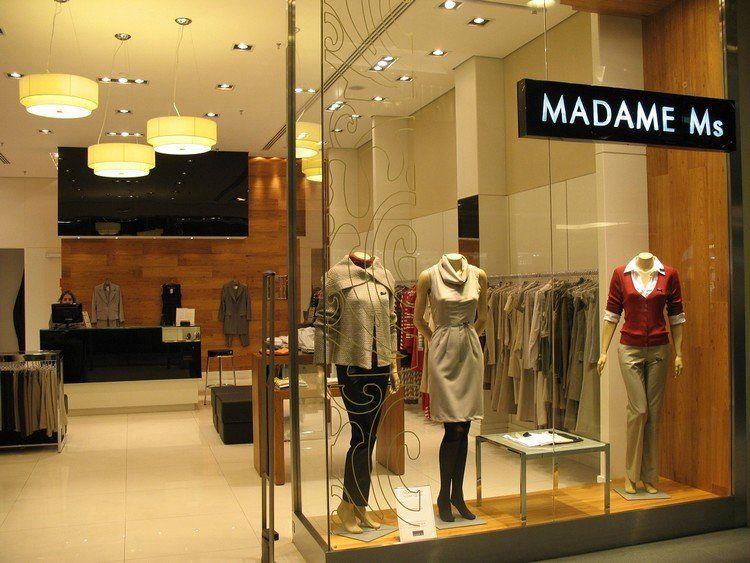 Arquitetura para lojas de roupas femininas Comercial Loja Lojas de roupas femininas  -> Decoracao Para Loja Feminina Pequena