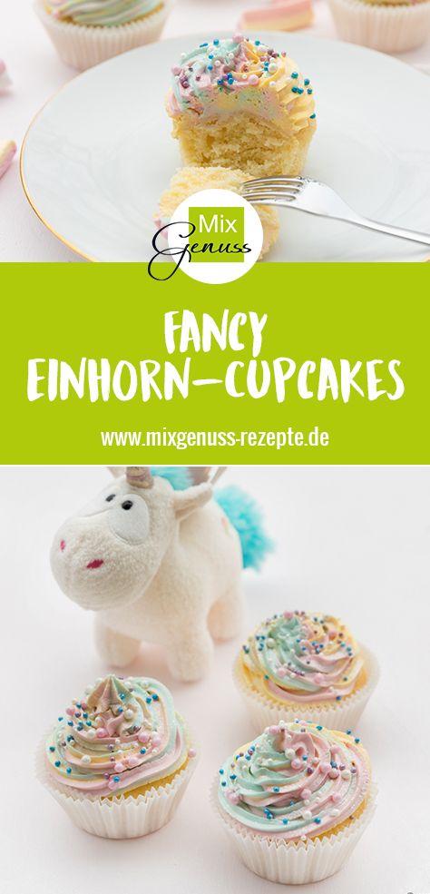 Photo of Einhorn-Cupcakes – MixGenuss Blog