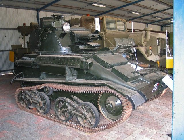 New on War History Online: The Vickers Light MKVI B - Quite Useless As A Fighting Tank http://bit.ly/1jRJu3O