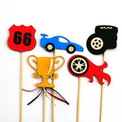 Cars Props 1 Kids party decor Bugzplaypark Cape Town