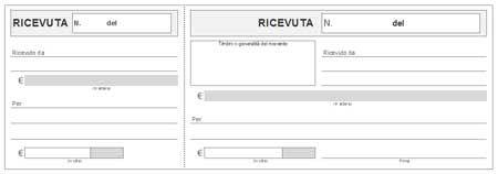 Modello ricevuta pagamento modulistica pinterest - Acconto per acquisto casa ...