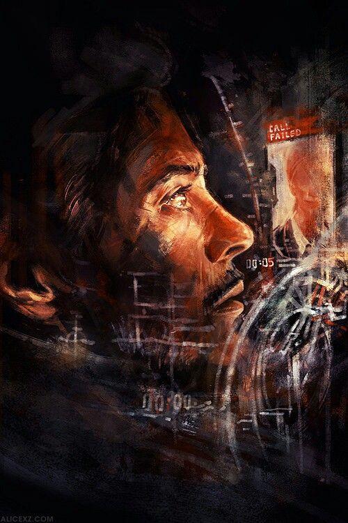 #Iron #Man #Tony #Stark #Fan #Art.