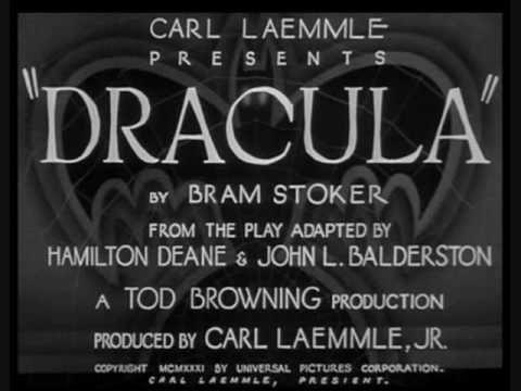 Dracula (1931) Theme   Wedding Music   Movie titles, Dracula