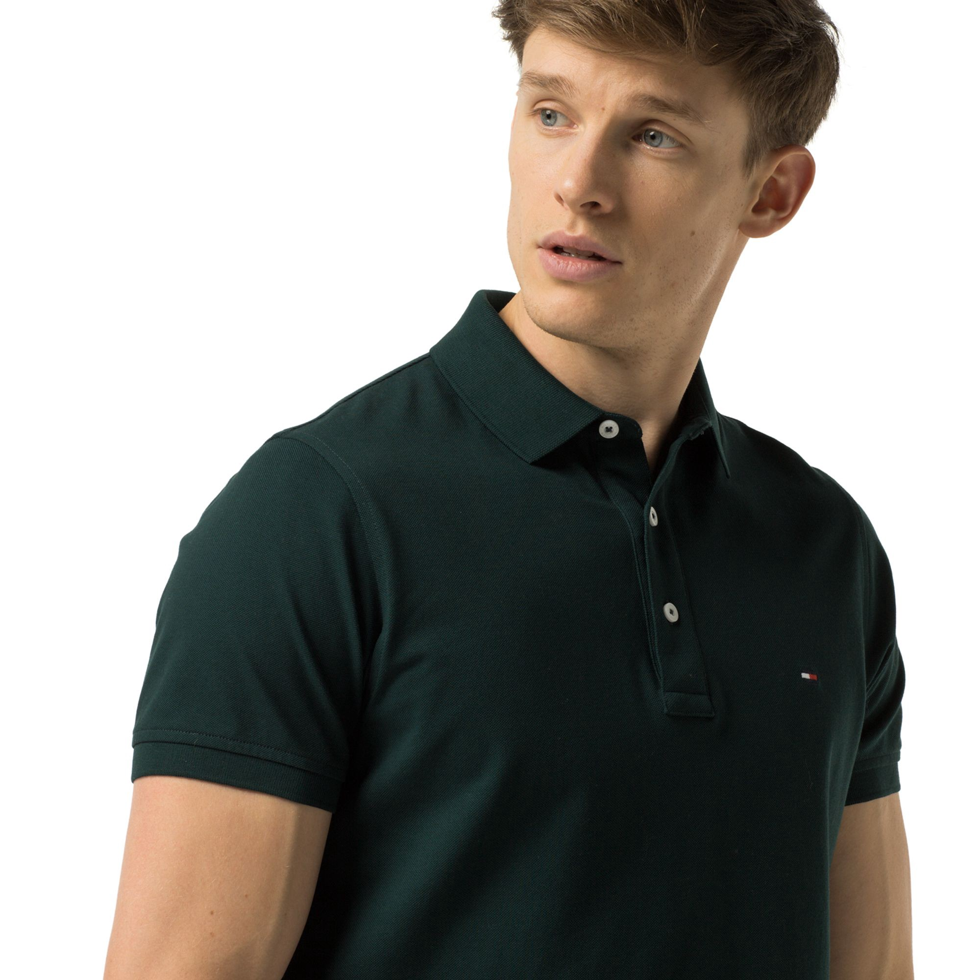 Slim Fit Luxury Pique Polo By Tommy Hilfiger Products Polo