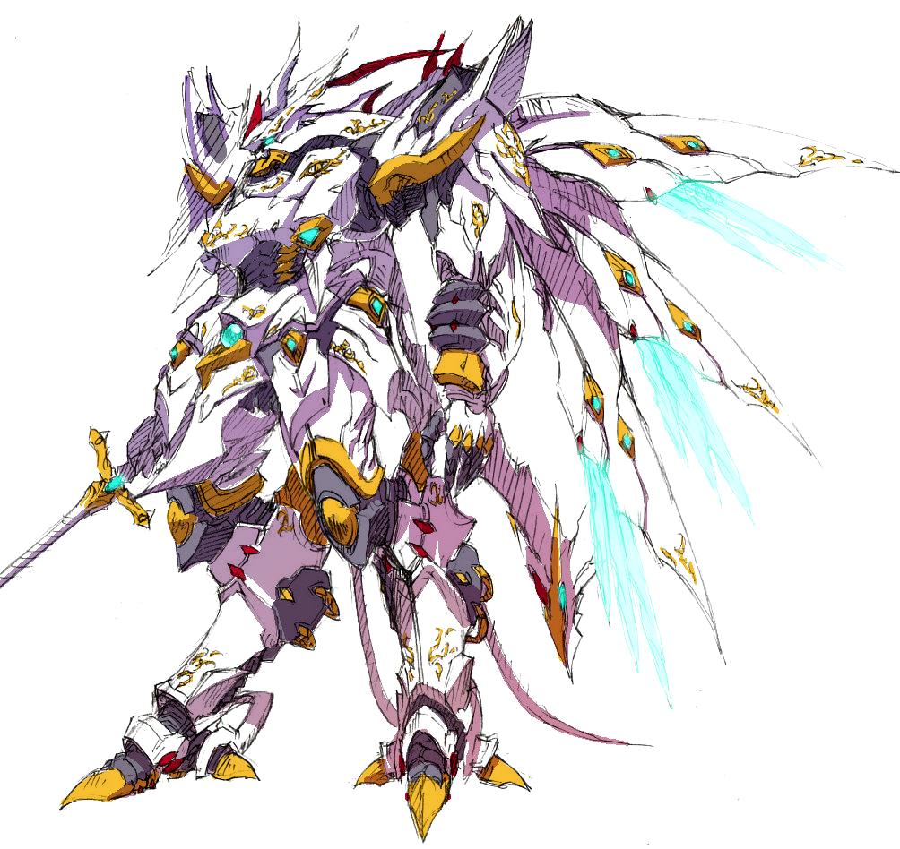 Anime Robot: Cybuster, Cybaster, Mecha, Super Robot Taisen, SRW, SRT
