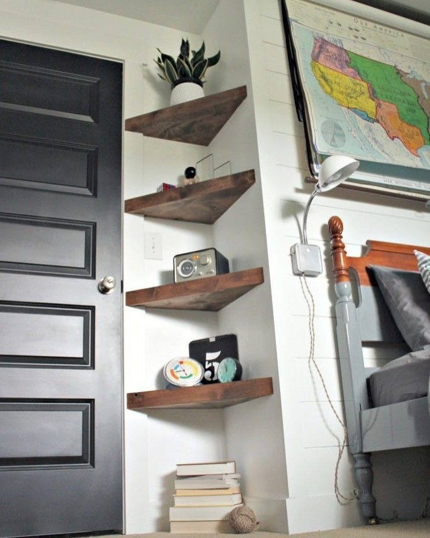 Bom Dia Ideia Para Prateleira De Canto Pinterest Http Ift Tt 1yn40ab Http Ift Tt 1oztis0 Imagem Diy Home Decor On A Budget Home Decor Bedroom Home Diy