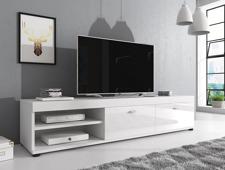 Tv Mobel Konsole Tisch Schrank Elsa 140 Cm Korpus Matt Front