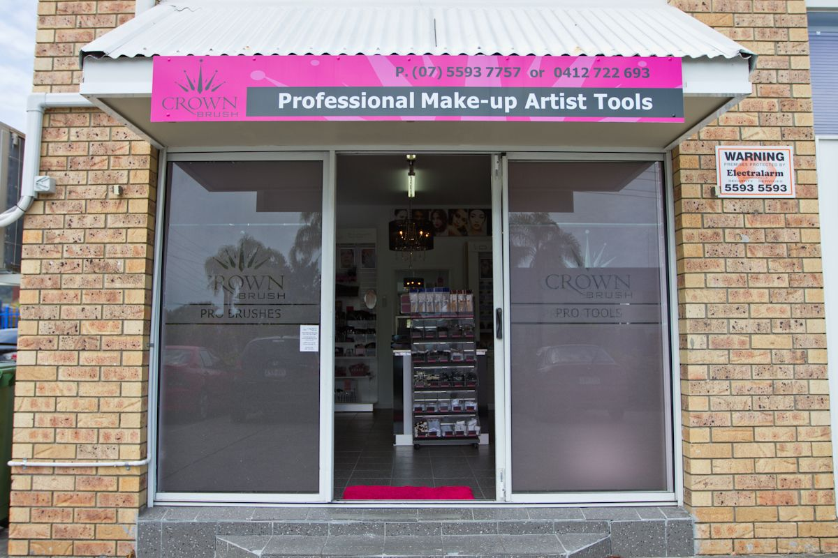 Our storefront in Burleigh, Gold Coast Professional