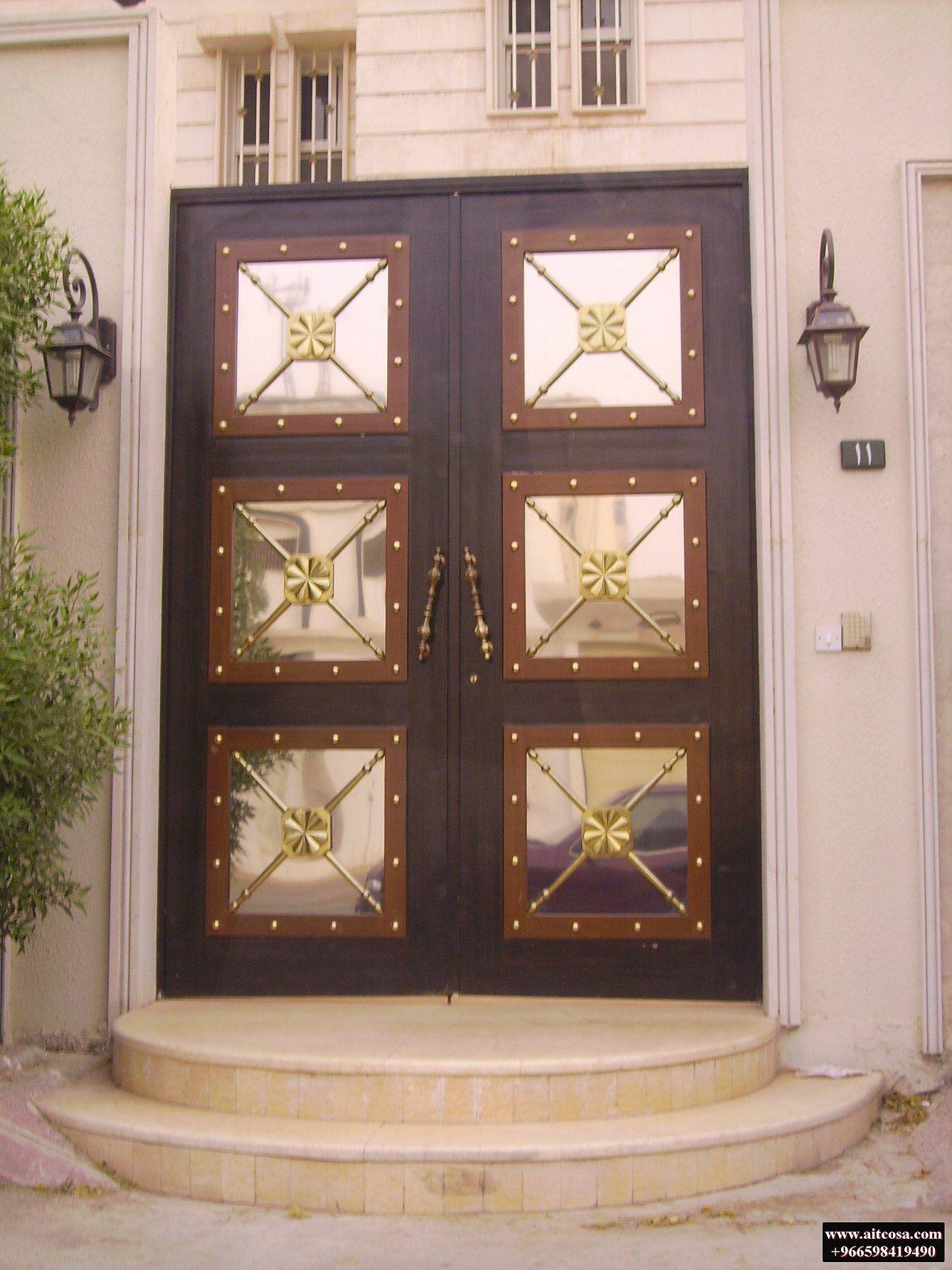 Pin By Aitco On ابواب خارجية Main Gate Design Iron Doors Door Design