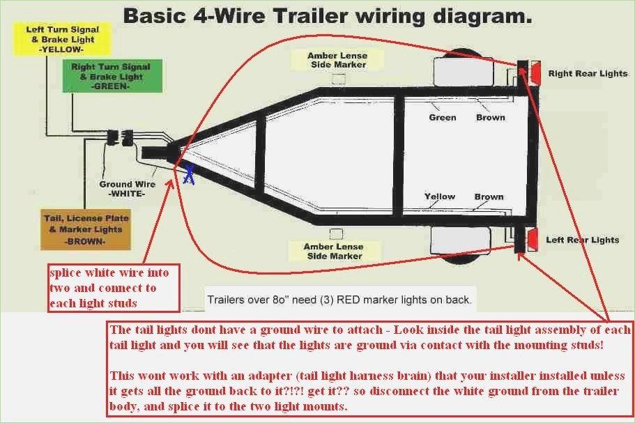 16 Great 7 Way Trailer Plug Wiring Diagram Trailer Side ...