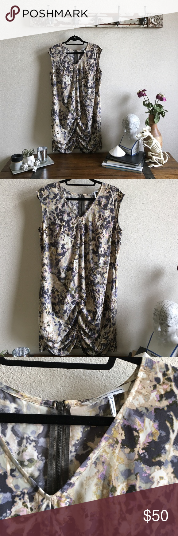 French Connection Zip Back Dress In like new condition. French Connection Dresses