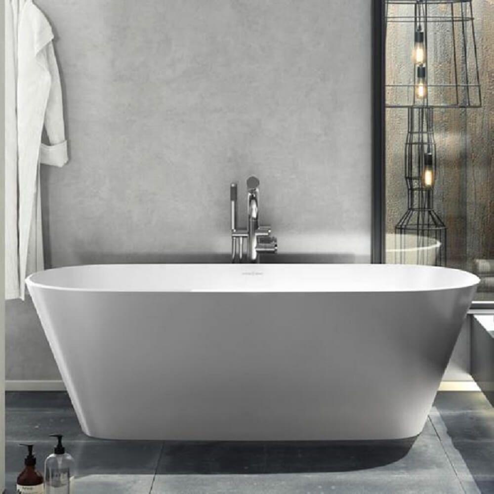 Victoria Albert Vetralla 2 Freestanding Bath Matte White On The Outside In The Maste Free Standing Tub Free Standing Bath Victoria And Albert Baths