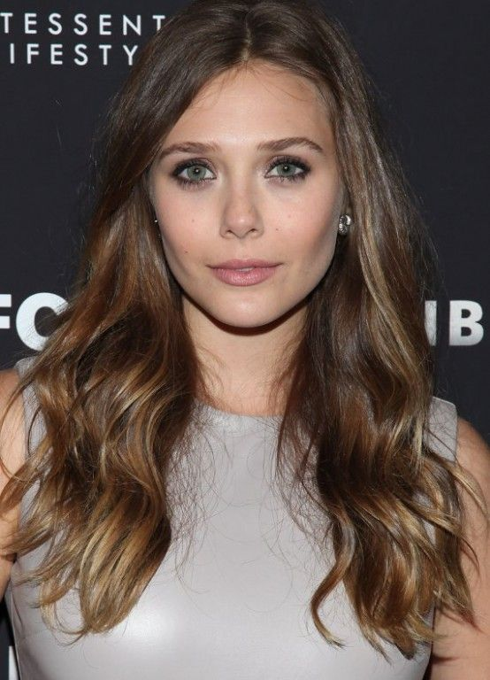 Light Chestnut Subtle Ombre Celebrity Hair Stylist Hair Styles Elizabeth Olsen