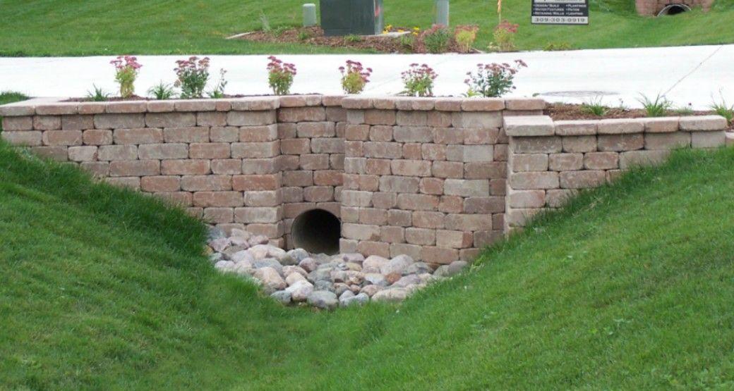 Image Result For Culvert Ideas Driveways Retaining Walls