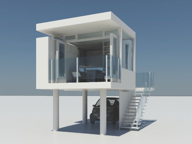220 sq ft modular home by michael katz lifeedited Pinterest