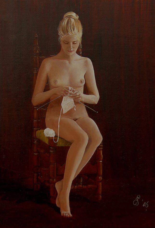naked knitting