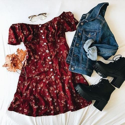 grunge outfits / fille stylé / moda donna #punkclothing