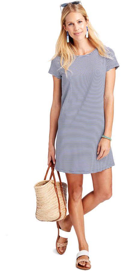f7e946bdeb7 Striped Sankaty Madakey Tee Dress Tee Dress, Dress Party, Shirt Dress