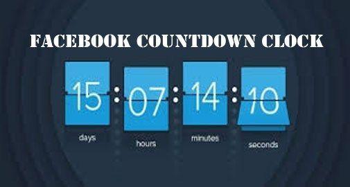 Countdown Facebook