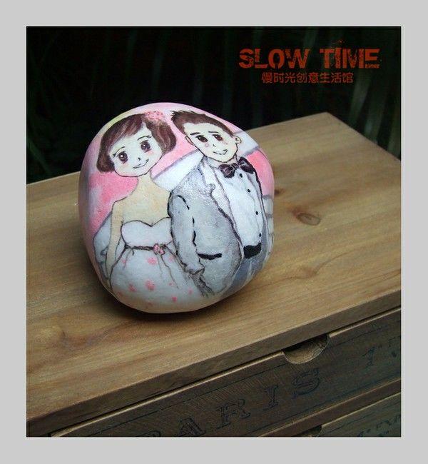 慢时光原创石头画-个性创意真人漫画。新浪@慢时光创意生活馆,更多作品:http://slow-time.taobao.com