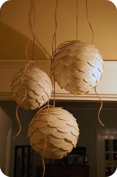 christmas decor DIY - final 2 Christmas decor, Happiness and Pinecone