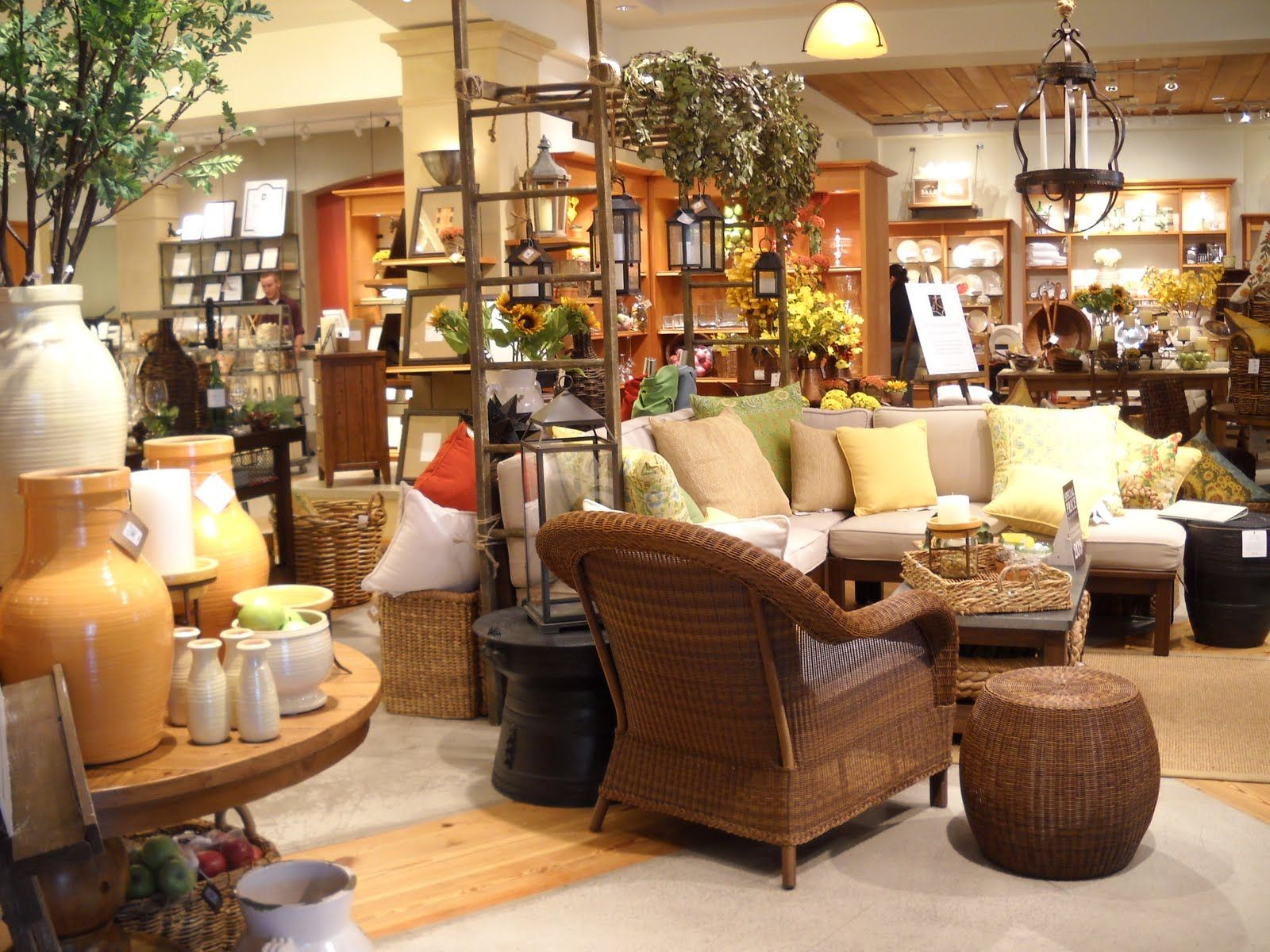 Pottery Barn Boutique Coffee Shop Pinterest Store