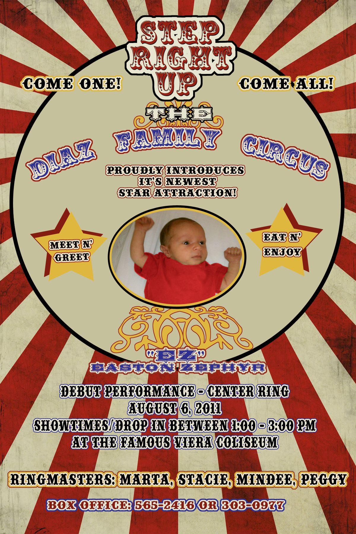 Circus baby meet n greet invite abcdiazs03gmail amys circus baby meet n greet invite abcdiazs03gmail m4hsunfo