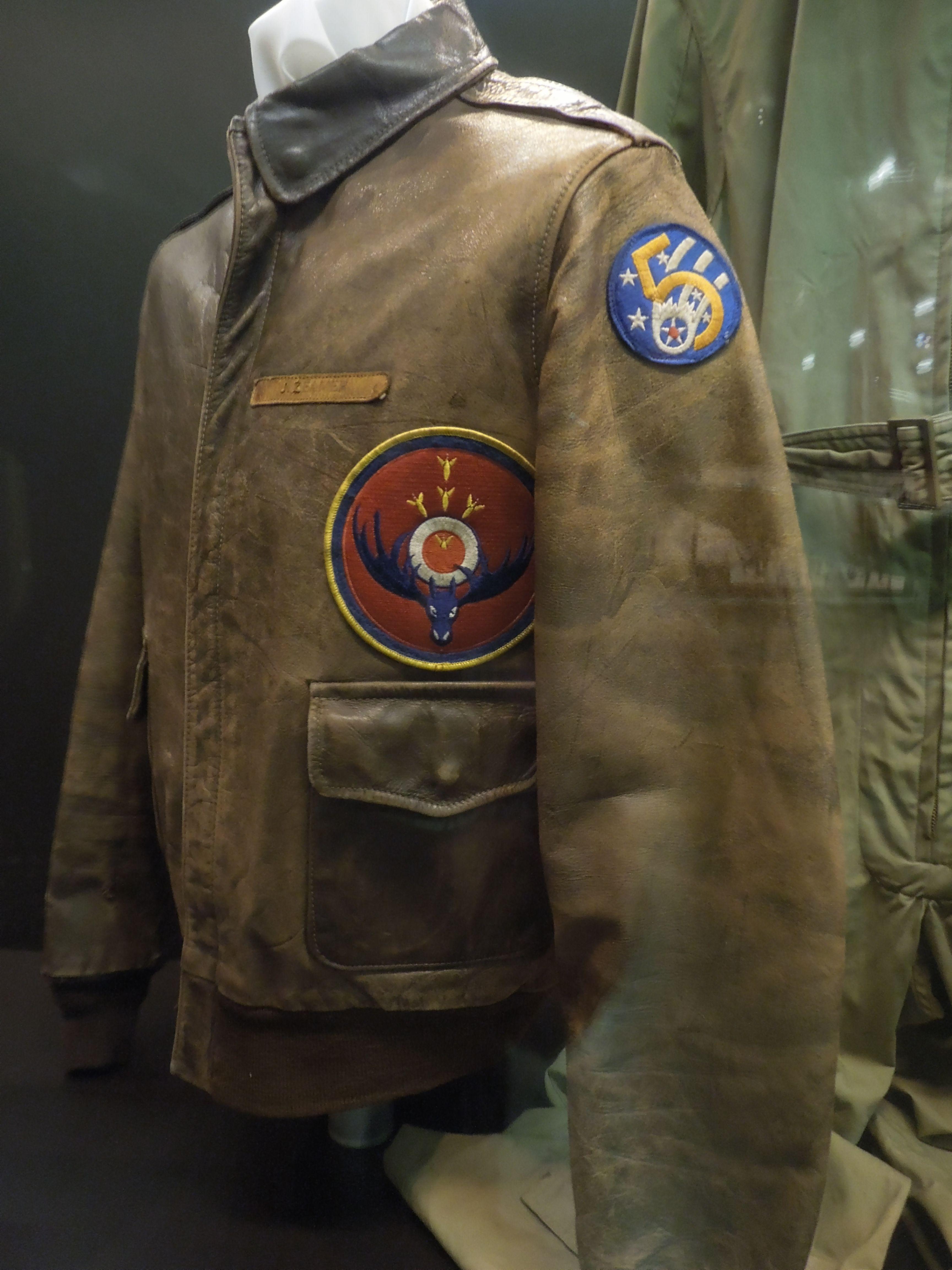 Vintage Bomber Jacket / United States Air Force Museum