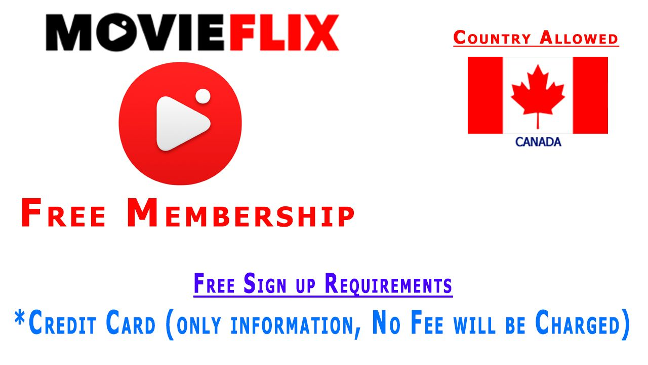 MovieFlix Free Membership - Free Movies - Free TV Shows