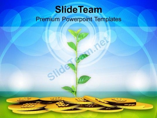 Money plant concept finance powerpoint templates ppt themes and check out this amazing template to make your presentations look awesome at money plantppt toneelgroepblik