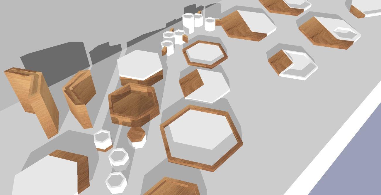 Tablewear studies http://www.woodendesign.fr