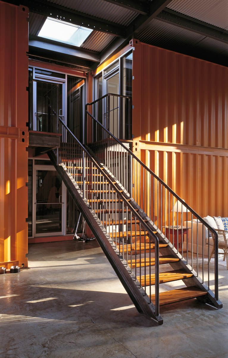12 container house in blue hill maine ideasgn by adam kalkin 8